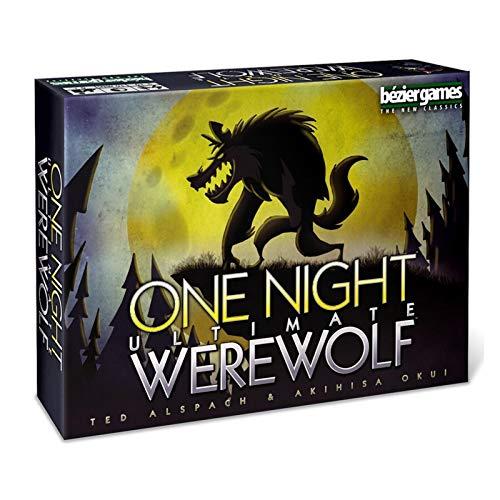 lossomly Werwolf Spiel Kartenspiel ONE Night ULTIMATIV Werewolf Alien Englische Version Brett Spiel Karten Geeignet Für 3-10 Personen Ab 8 Jahren