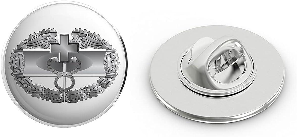 Veteran Pins US Army Combat Medical First Award Badge Metal 0.75