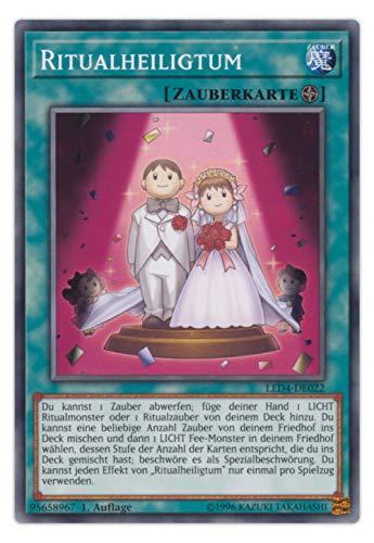 serie Yu-Gi-Oh Legendary Duelists Sisters of The Rose Einzelkarten Playsets Auswahl - 1. Auflage deutsch (LED4-DE022 Ritualheiligtum)