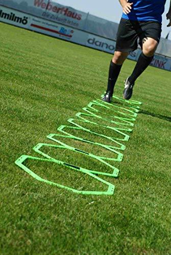 POWERSHOT - Koordinationsleitern für Fußball in jaune fluo, Größe TU EU