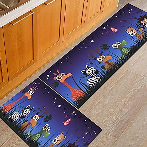 HLXX Patrón geométrico impresión puerta Mat cocina antideslizante alfombra sala de estar balcón baño alfombra puerta Mat A21 40x60cm