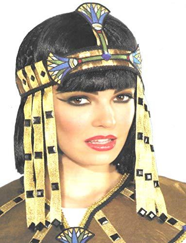 VENTURA TRADING Tocado Egipcio Diadema Reina del Nilo Tocado Egipcio Cleopatra Azteca Decoración Mujer Mascarada Disfraz Mardi Gras Partido