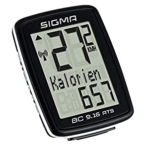 Sigma 09162 Ciclocomputador, Negro, Talla Única