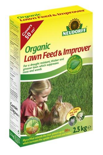 Neudorff 2.5Kg Organic Lawn Feed and Improver