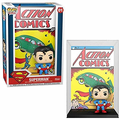 Funko Pop Vinyl Cover DC Comics Superman Action Comic, Color (50468)