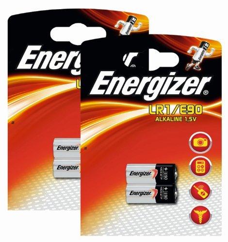 Energizer Original Spezialbatterie Alkali Mangan E90 (1,5 Volt, 2x 2-er Pack)