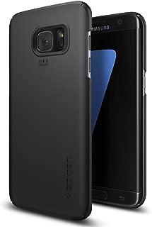 Spigen Thin Fit Designed for Samsung Galaxy S7 Edge Case (2016) - Black