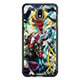 Coque pour Samsung Galaxy J7 2017 (J730) Pokemon go Team Pokedex Pikachu Manga Tortank Game Boy...