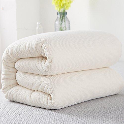 QQDE DW&HX Coton Hiver Chaud épaissi Coton Couette Enfant Quilt-Blanc 120x150cm(47x59inch)