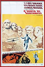 North by Northwest - Framed Movie Poster/Print (Size: 27 inches x 40 inches)