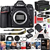 Nikon D780 Full Frame DSLR Digital SLR 4K FX Format Camera Body Bundle with Photo and Video Professional Editing Software Kit, Deco Gear Camera Bag, 2X Rechargeable Battery, 64GB Card & Accessories