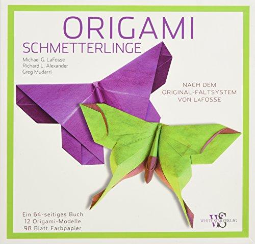 Origami Buch: Schmetterlinge. 18 detaillierte Falt-Anleitungen für außergewöhnliche Origami Figuren, von Origami-Künstler Michael LaFosse. Inklusive Origami Faltpapier