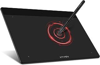 XP-Pen ペンタブレット XSサイズ ペンタブ Chromebook 対応 板タブ 充電不要ペン イラスト 入門用 OSU!ゲーム用 Windows Mac Androidに対応 Deco Fun XS ブラック