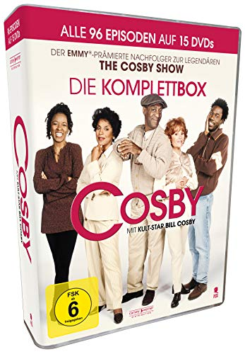 Cosby - Staffel 1-4 - Komplettbox [15 DVDs]