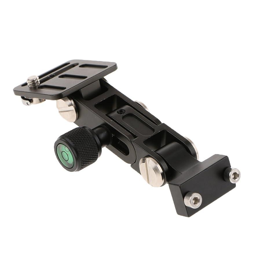 Homyl Aluminum Alloy Telephoto Zoom Long-Focus Lens Bracket Support DSLR Camera Quick Release QR Plate Holder Stand