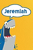 Jeremiah: Great White Shark Blank Comic Book Notebook Journal book 120 pages 6'x9'