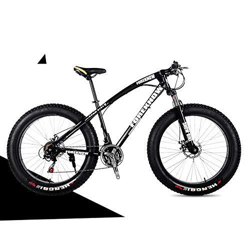 Nerioya Erwachsenen-Mountainbike, Doppelscheibenbremsen Vorne Und Hinten, Stoßdämpfendes Fat Shift Beach Shift Bike,C,20 inch 24 Speed