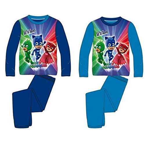 PJMASKS Pajama T4 Blue Hero Long Sleeve