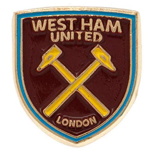 West Ham Utd Hammers Football Club Metal Pin Badge Shield Crest Logo Official