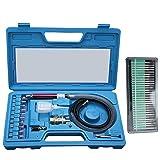 1/8' Pneumatic Micro Air Pencil Die Grinder Polishing Engraver Tool Kit