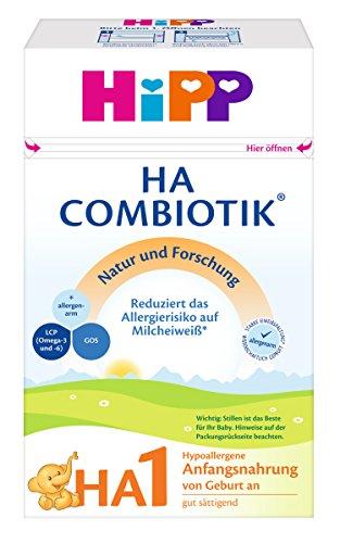 Hipp HA 1 Combiotik, Hypoallergene Anfangsnahrung, 1er Pack (1 x 500g)