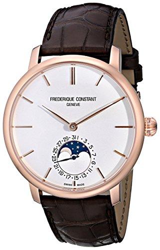 Frederique Constant FC705V4S4 Herrenuhr mit Lederband