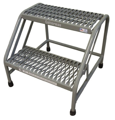 Step Stand, 20 In H, 500 lb., Steel