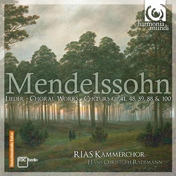 Mendelssohn: Choral Works