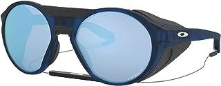 Oakley Men's Clifden Sunglasses,One Size,Matte Translucent Blue/Prizm Deep Water Polarized