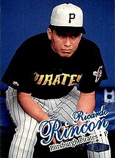 1998 Fleer Ultra #195 Ricardo Rincon PITTSBURGH PIRATES MLB Baseball Card