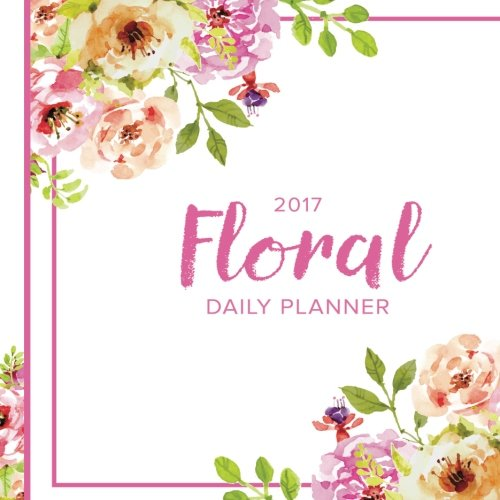 2017 Floral Daily Planner