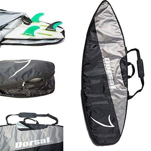 DORSAL Board Bag Travel Day Surfboard Cover - Shortboard 6'8