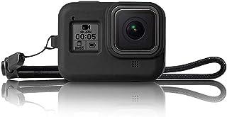 Gopro8 Silicone Cover Hero 8-Black Black Camera Body Phone Case Camera Bare Computer Protective Case + Lanyard Accessories
