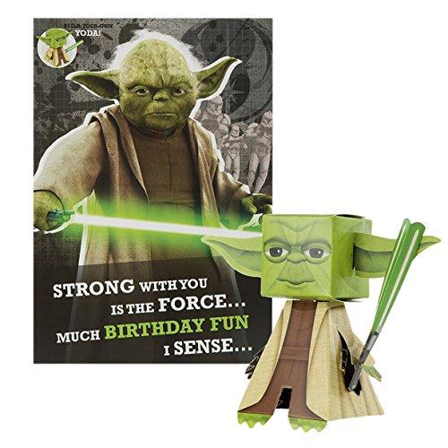 Star Wars 'Build eigenen Yoda'Hallmark Geburtstagskarte