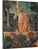 Pintar por Numeros para Adultos Niños Pintura por Números con Pinceles y Pinturas- Decoraciones para el Hogar — la resurrección, por Piero della Francesca