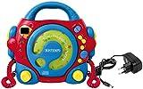Bontempi- Reproductor para CD y mp3 con micrófonos, Fuente de alimentación y Toma USB (Spanish Business Option Tradding 43 9980)