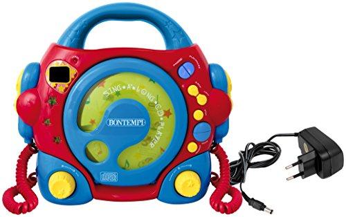Bontempi 43 9980 CD-speler, rood/blauw