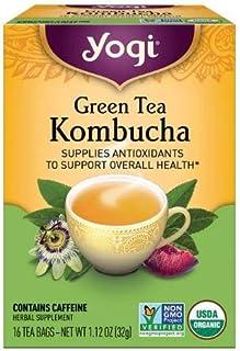 Yogi Tea Kombucha Green Tea 16 ea ( pack of 2)