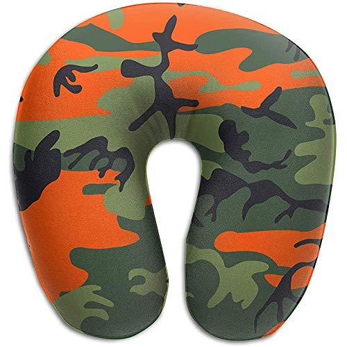 U-Förmiges Nackenhörnchen,Camouflage Memorial Day Weiches, Bequemes Nackenkissen Für Sport Gym Athletic
