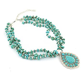 Best turquoise necklace Reviews