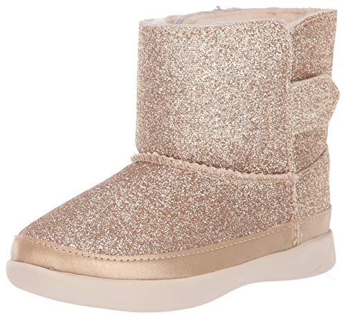 UGG Unisex-Kinder Keelan Glitter Halblange Stiefel, ORO, 27 EU