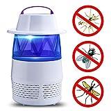 Piège à Guêpes,LMMVP Pièges à Moustiques Tueur de Moustiques Non Toxique Piège Anti-moustique USB UV Attirer d'inhalateur de Moustique Lampe pour Maison/Bureau/l'extérieur (blanc)