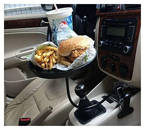 Tabla de café en casa Mesa de café pequeña Hogar práctico Tabla de café perezoso Snack y bebida Titular de la bandeja Titular de la taza para el coche del coche Titular de la taza de la bebida de la b