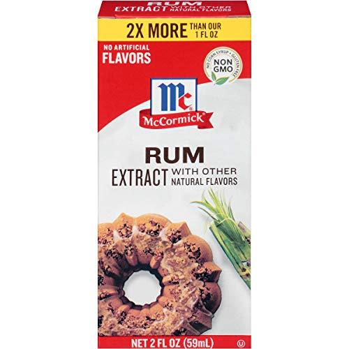 McCormick Rum Extract, 2 fl oz