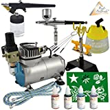 PROFI SET AERÓGRAFO - SET AIRBRUSH con COMPRESOR AERÓGRAFO - COMPRESOR AIRBRUSH, AERÓGRAFO COLORES- AIRBRUSH COLORES...