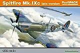 Eduard EDK70121 Kit 1:72 ProfiPack-Spitfire Mk.IXc Late Version Model, Various