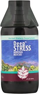 WishGarden Herbs - Deep Stress, Organic Herbal Stress Relief, Combination of Ten Soothing Herbs Support Normalized Mood and Energy (4 Ounce Jigger)