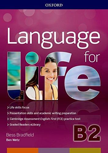 Language for life. B2. Student's book-Workbook. Con Hub, 16 eread, 2 tests. Per le Scuole superiori. Con ebook. Con espansione online. [Lingua inglese]