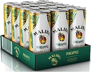 Malibu Pineappel 12 x 0,25l, der Longdrink für den Sommer in der Dose, inkl. 3,00€ DPG Pfand EINWEG
