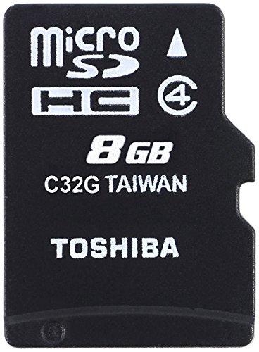 Toshiba M102 - Tarjeta de memoria micro SDHC de 8 GB